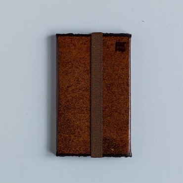 Visiting cards holder, brown
