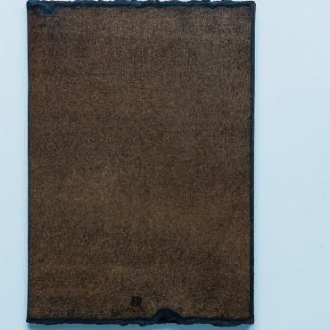 notes duży B5, brązowy