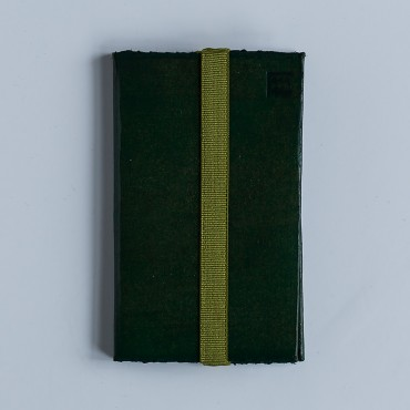 Visiting cards holder, green