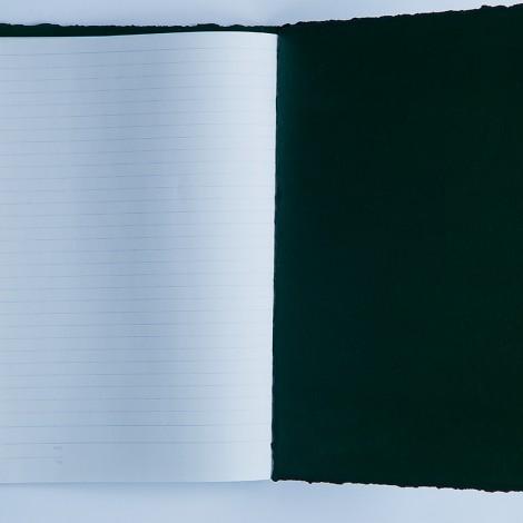 notes duży B5, zielony