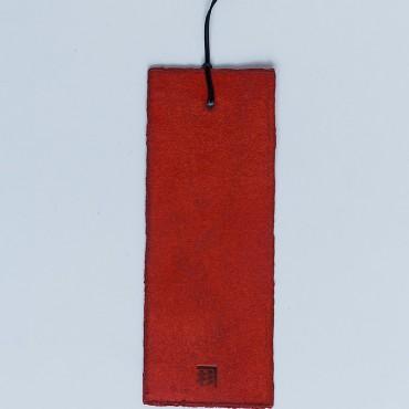 zakładka do książki, czerwona