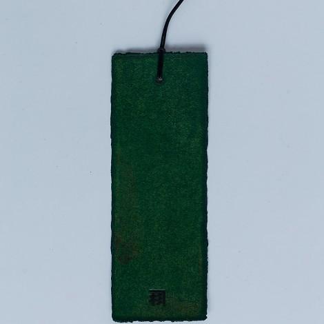zakładka do książki, zielona