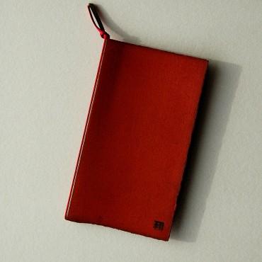 okładka/teczka mała, czerwona